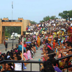 The India-Pakistan Wagah Border Closing Ceremony
