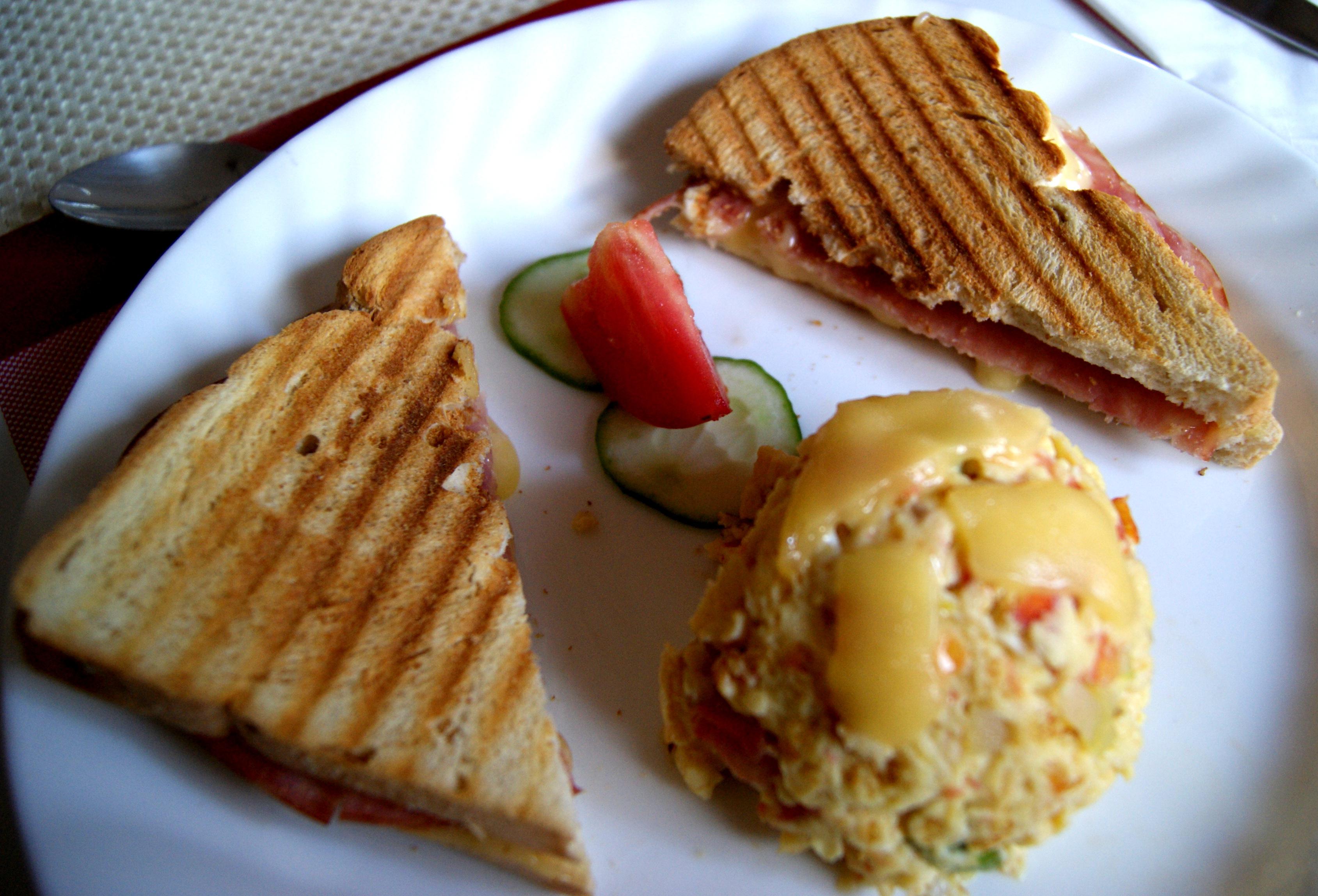 cuba food, food in cuba, food in varadero, casa particular food