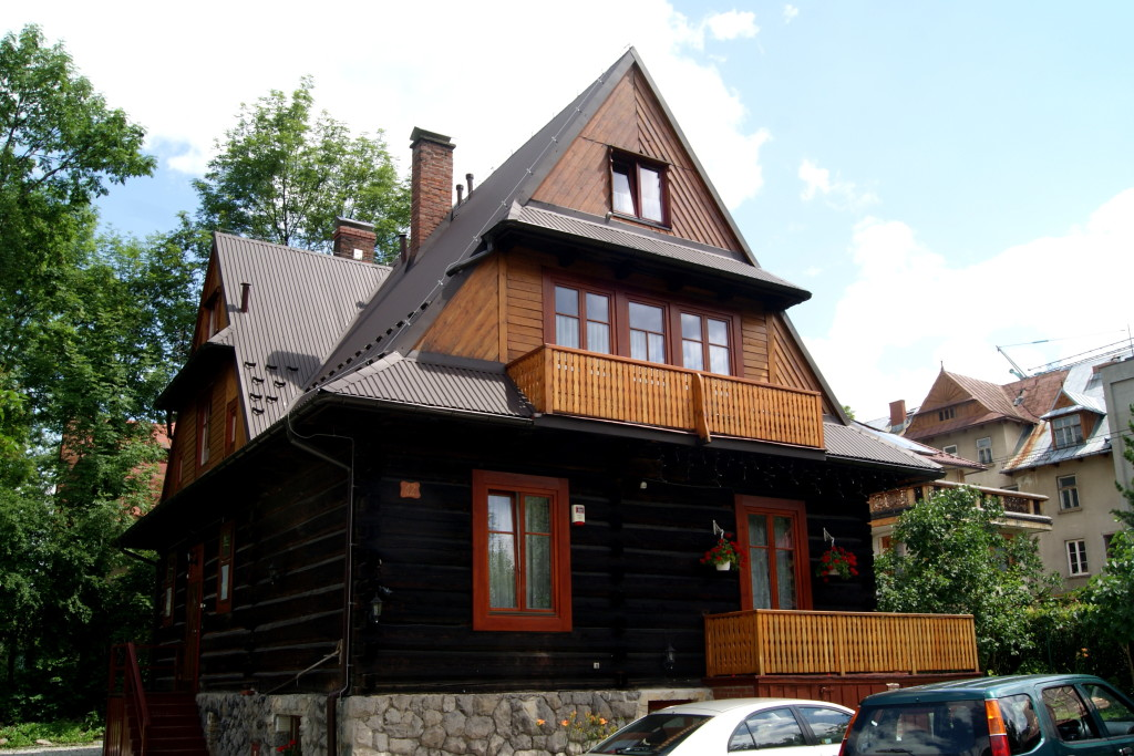 zakopane, willa dewajtis, poland accommodation