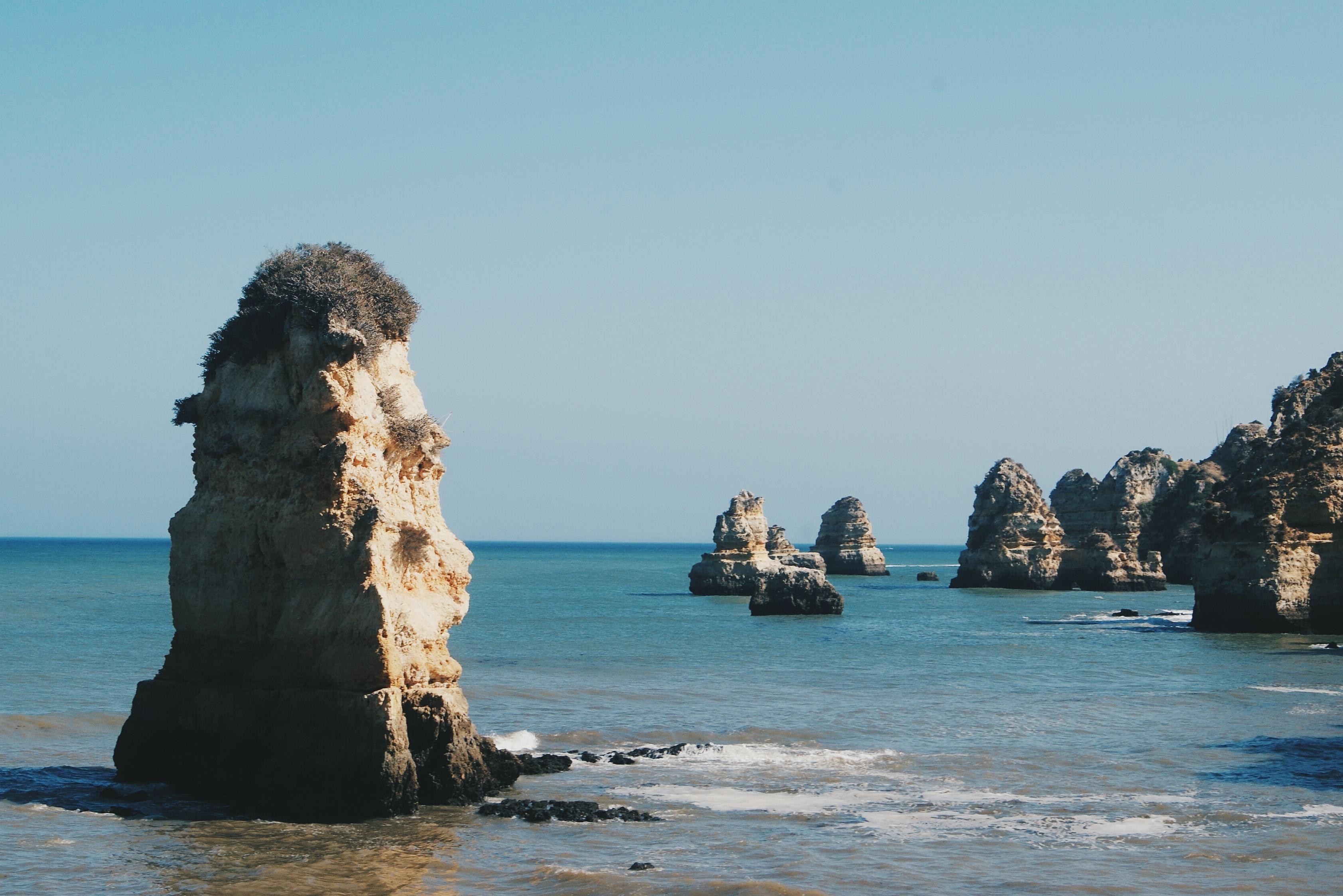 ponta da piedade, portugal coast, lagos portugal