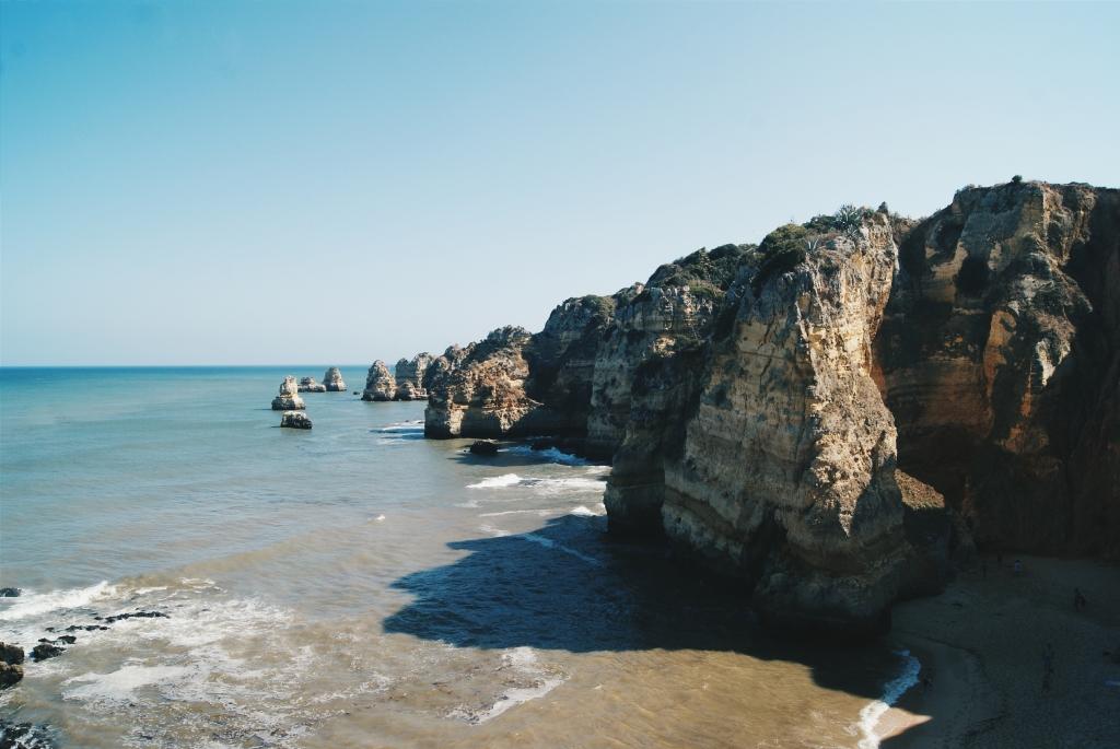 portugal coast, lagos coast, ponta da piedade