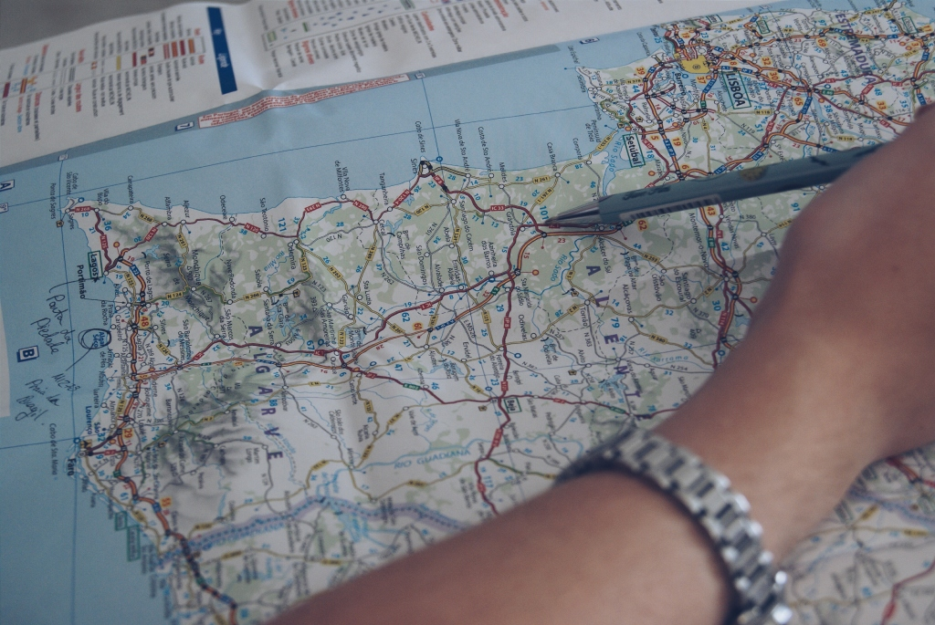 map, travel map, travel planning, route planning