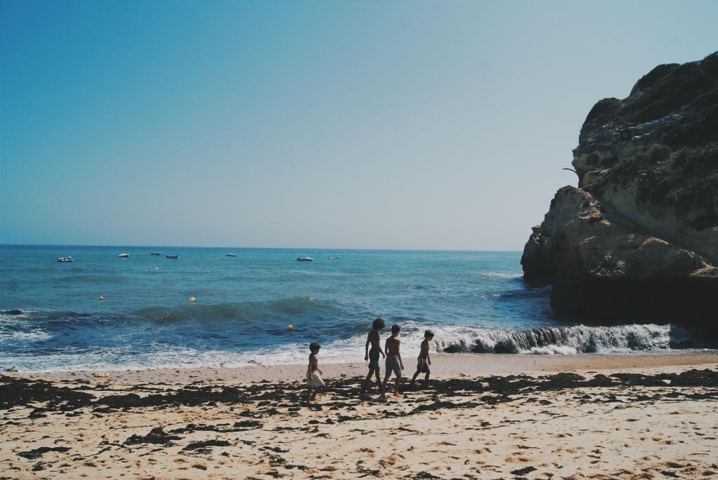 portugal beach, benagil beach, road trip portugal