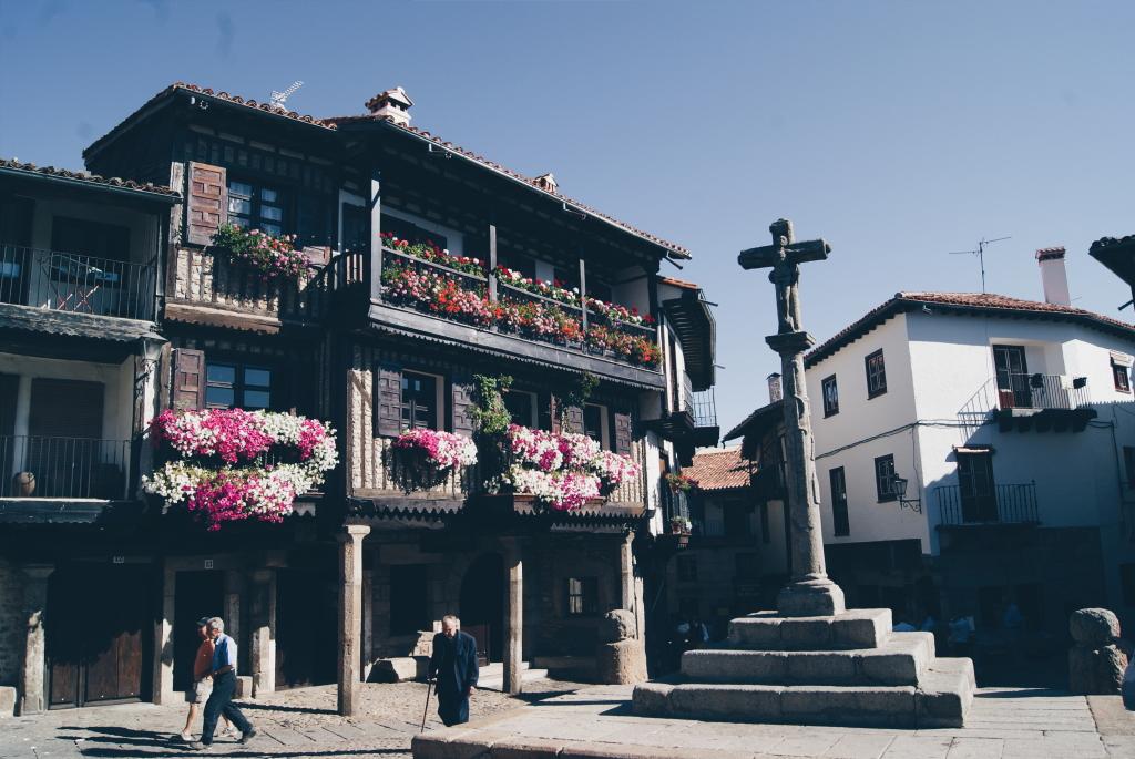 La Alberca, spain, spanish village, central spain