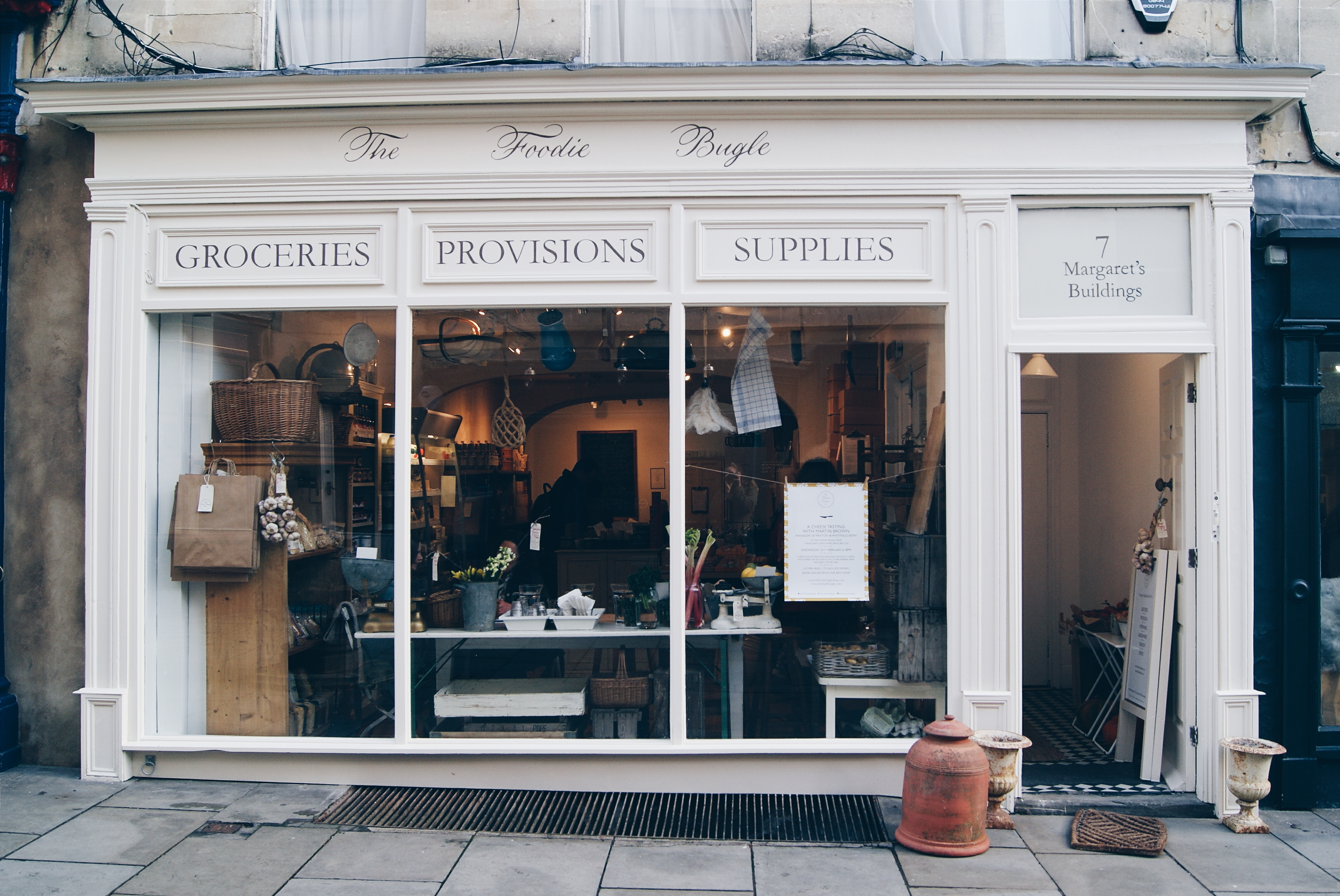 Shopping in Bath: Interview with The Foodie Bugle - | GKM | GKM