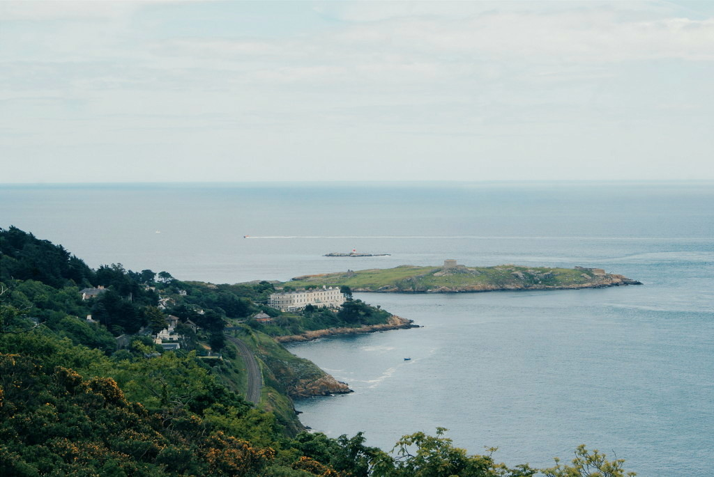 day trips from dublin, killiney hill park, dalkey island