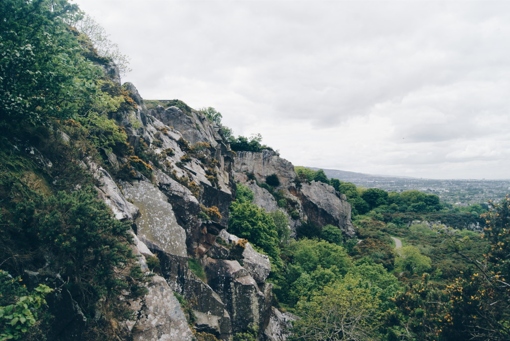 dalkey quarry, killiney hill park, day trips from dublin
