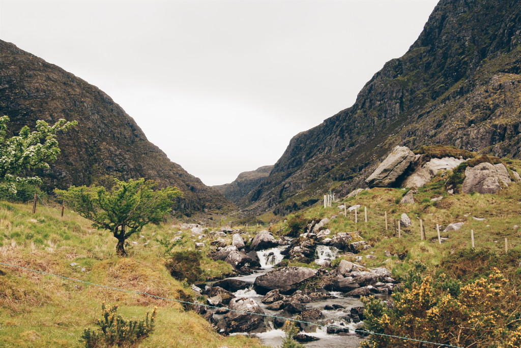 the gap of dunloe, ireland nature