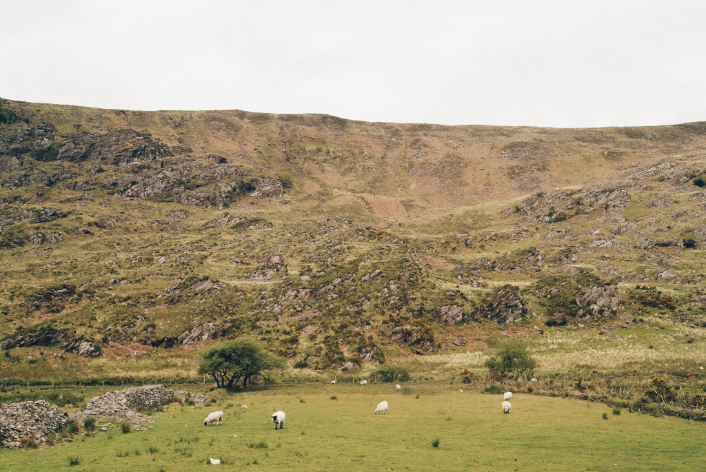 the gap of dunloe, irish countryside, county kerry