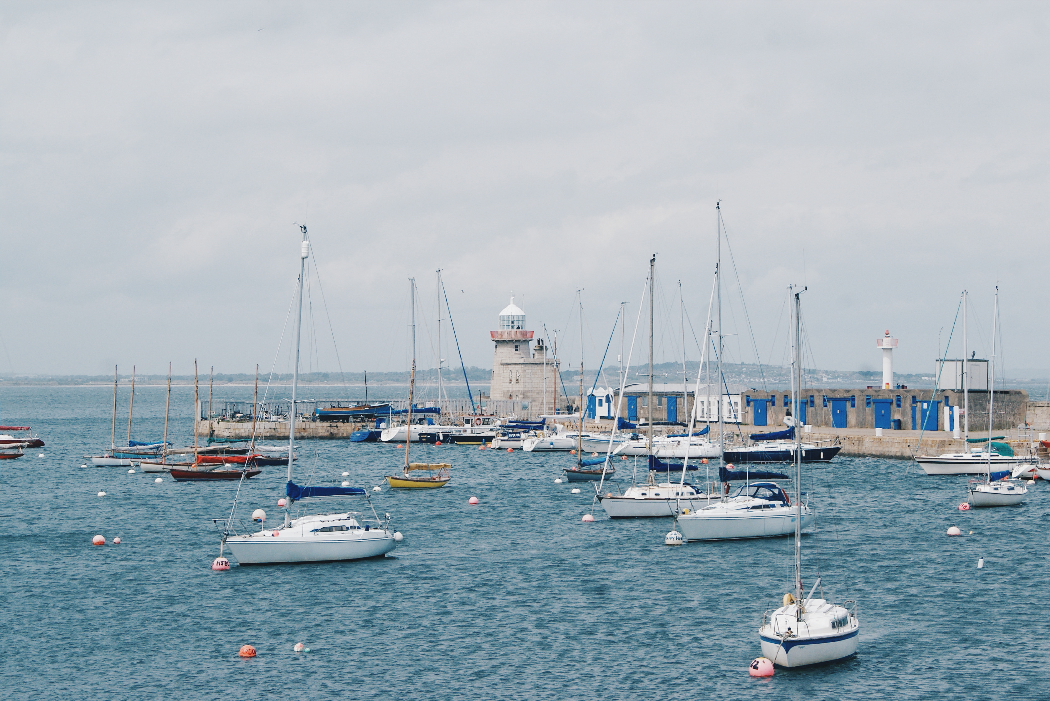 day trips from dublin, howth harbour, howth lighthouse