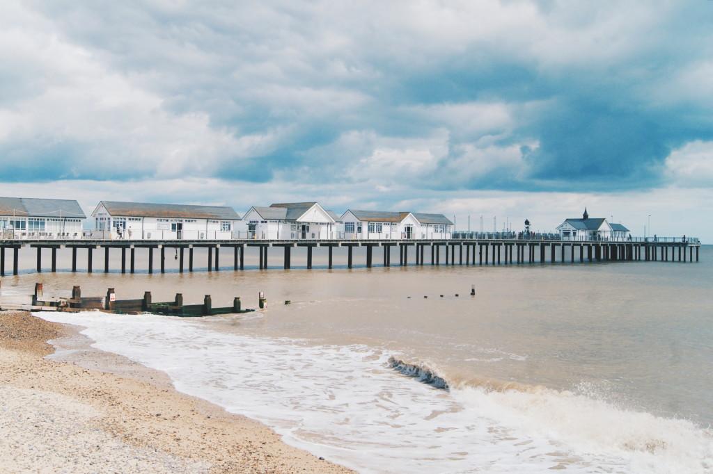 southwold pier, british seaside, suffolk coast