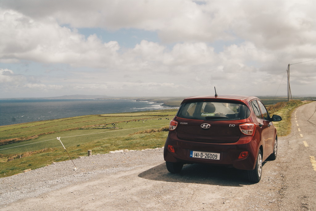 driving wild atlantic way, ireland road trip, driving ireland