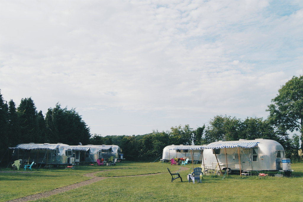 glamping in suffolk, aristreams uk, glamping uk, airstream camping