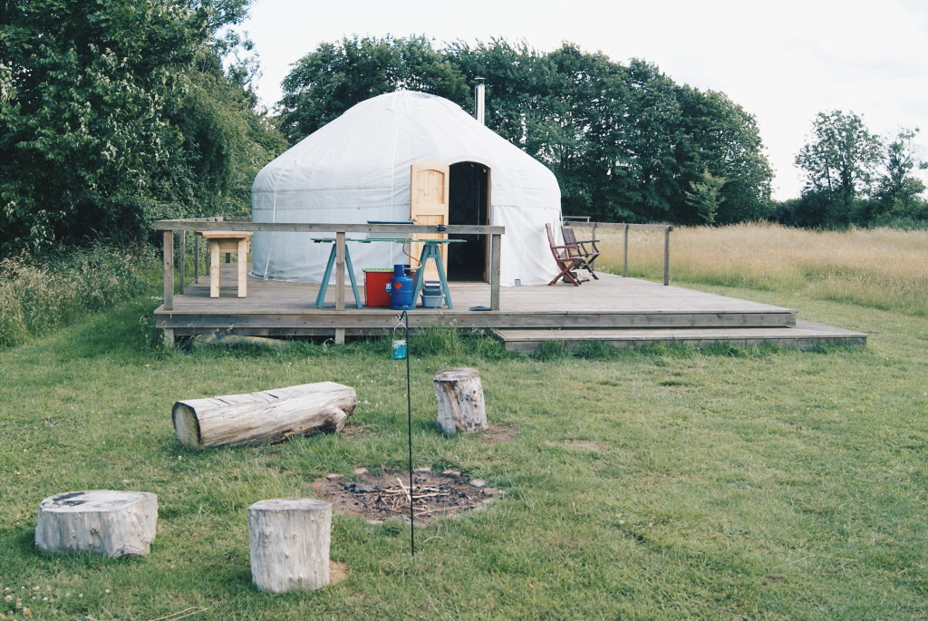 glamping in suffolk, glamping uk, ivy grange farm yurts
