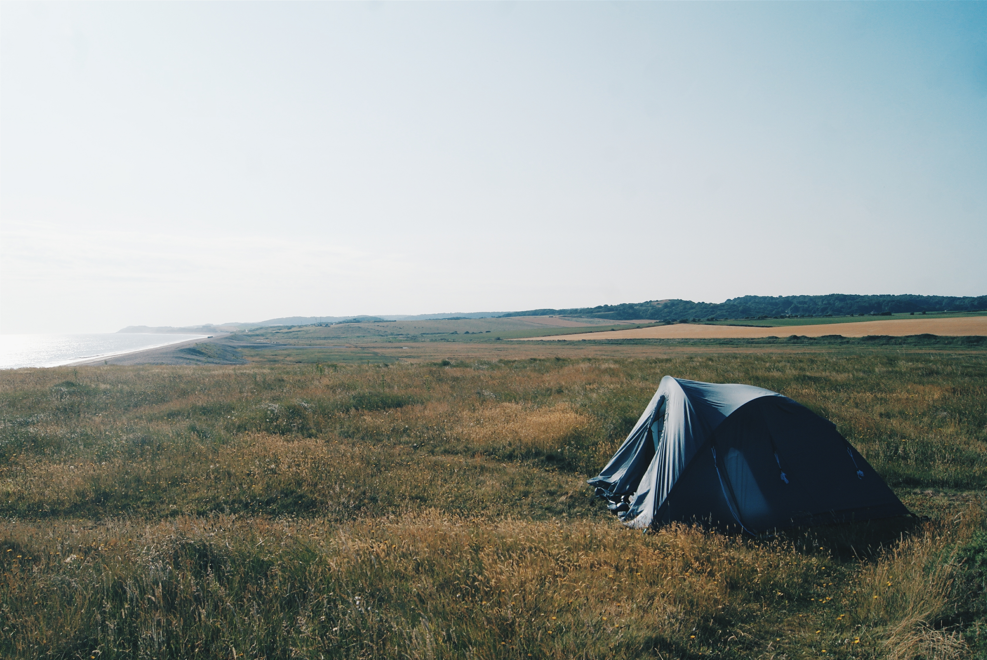 wild camping in norfolk, norfolk beaches, salthouse norfolk