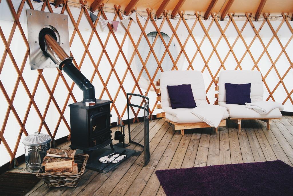 glamping in wales, wales yurts, uk yurt camping