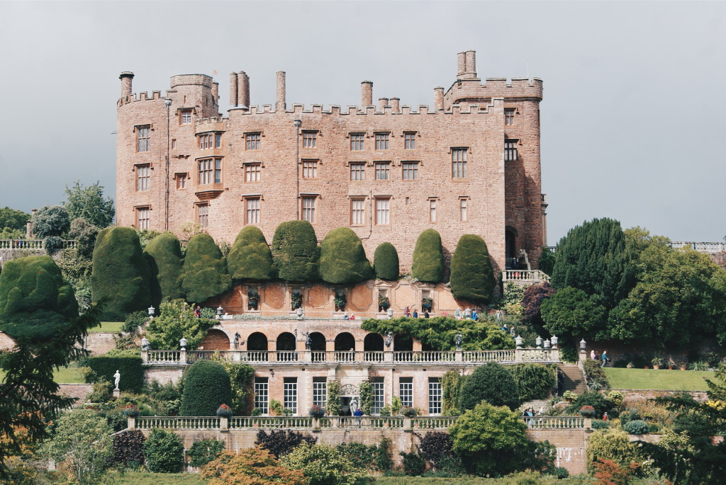 castle in wales, wales national trust, powis castle wales