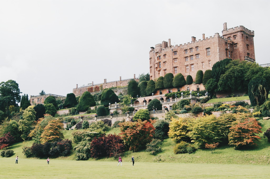 powis castle in wales, welsh national trust