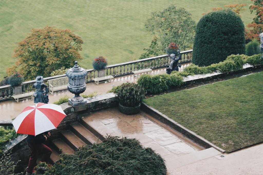 powis castle wales, castle in wales, powis gardens