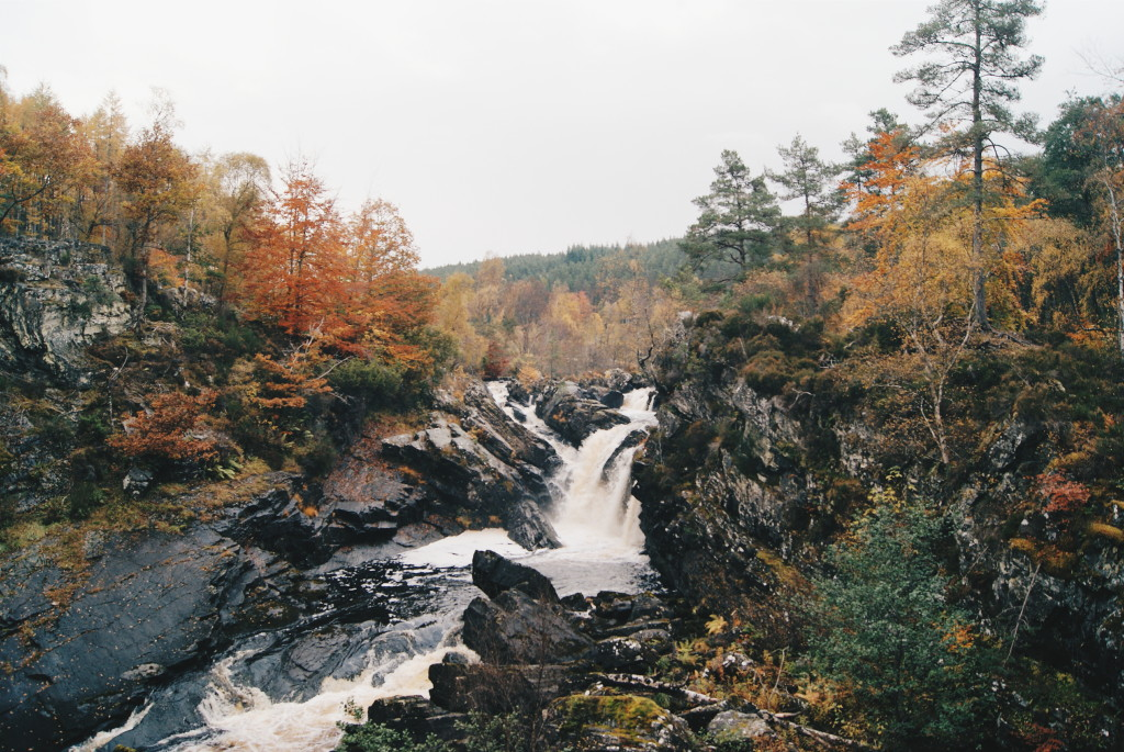 days out in scotland, rogie falls scotland, waterfalls scotland