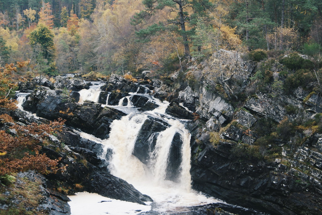days out in scotland, rogie falls, scotland nature