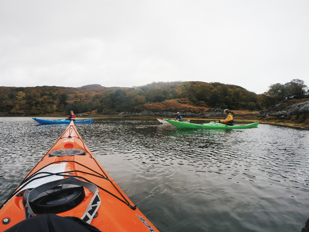 sea kayaking in scotland, kayaking in scotland, kayak course scotland