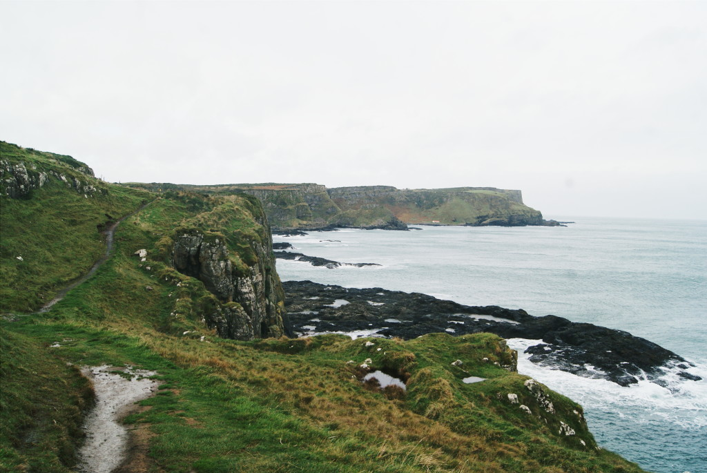 walking the causeway coast way, hiking northern ireland, ireland ways, hiking antrim