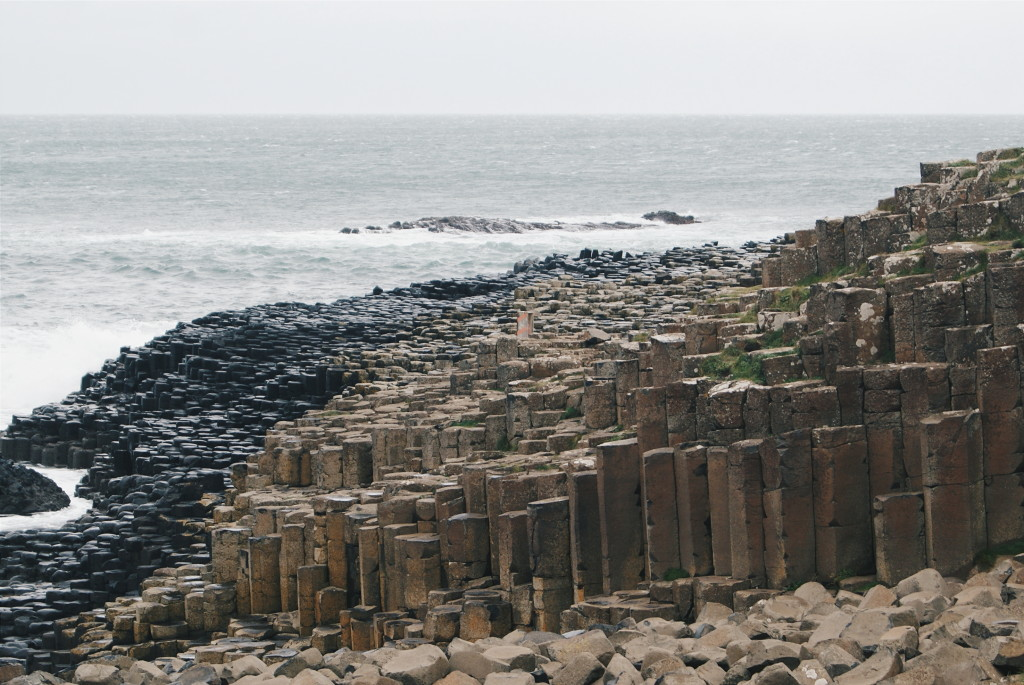 giant's causeway hiking, hiking to the giant's causeway