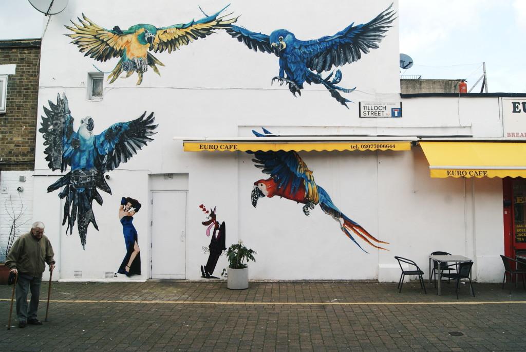 adventure inspiration, slow travel, london islington, london street art