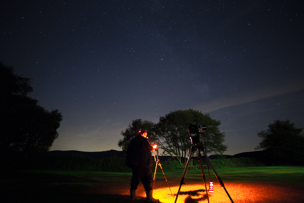 stargazing in the Brecon Beacons, weekend in the brecon beacons
