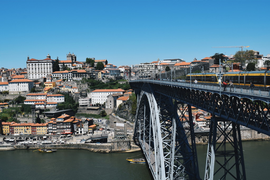 porto in pictures, dom luis bridge porto, bridges porto, porto photos
