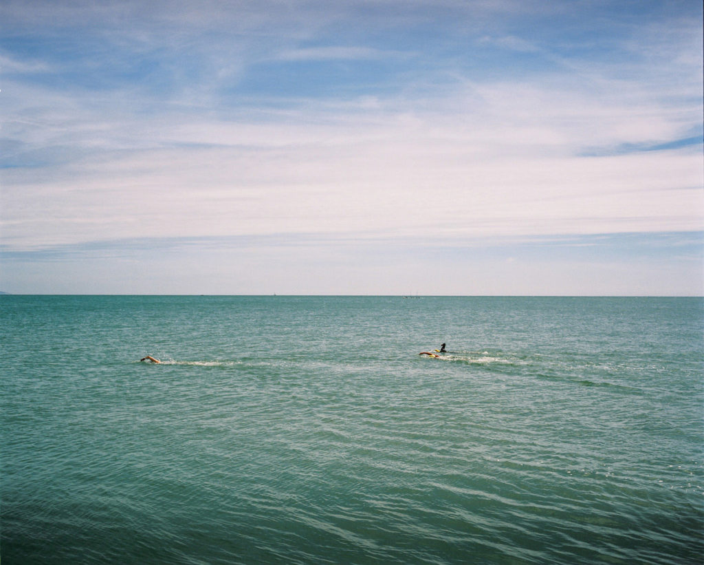 eastbourne in pictures, eastbourne swimming
