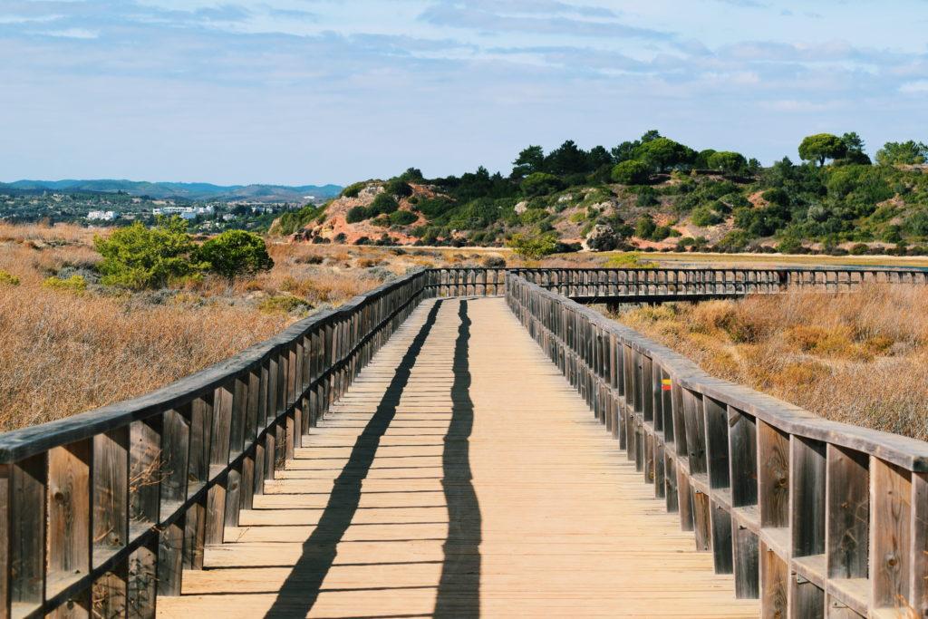 alvor boardwalks, alvor lagoons, algarve walks