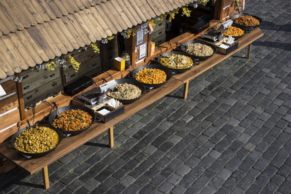 foodie travel guide, food market, city food travel