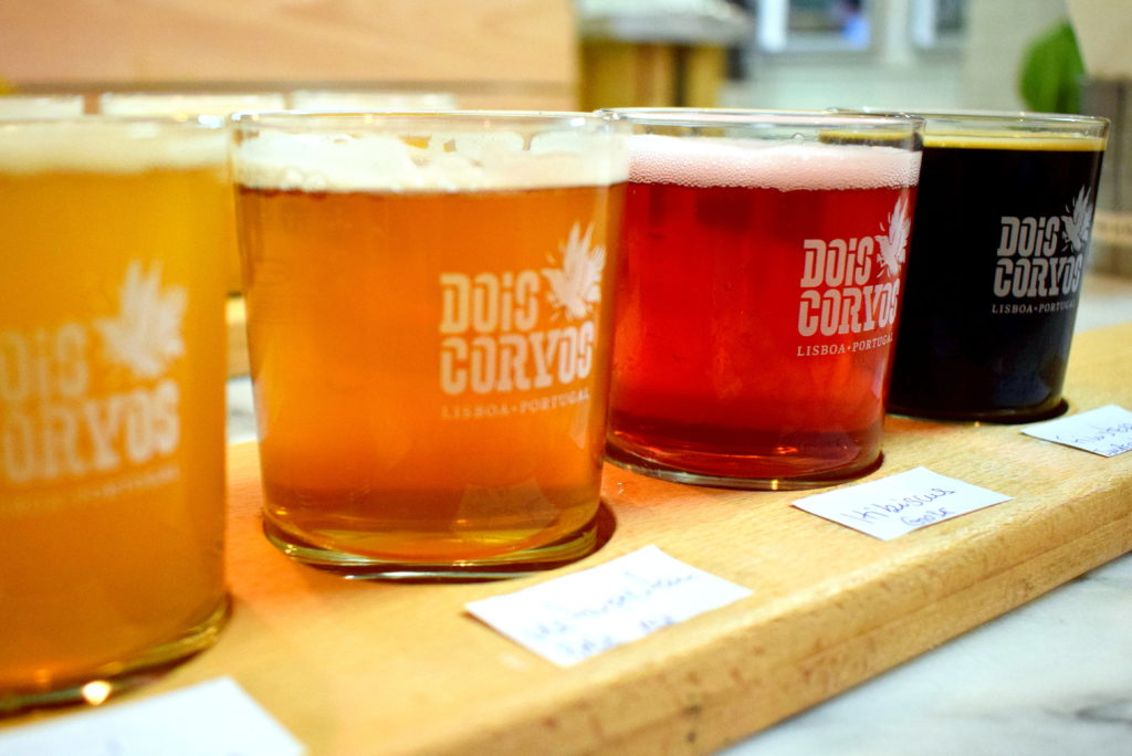 craft beer in lisbon, dois corvos lisbon, lisbon brewery