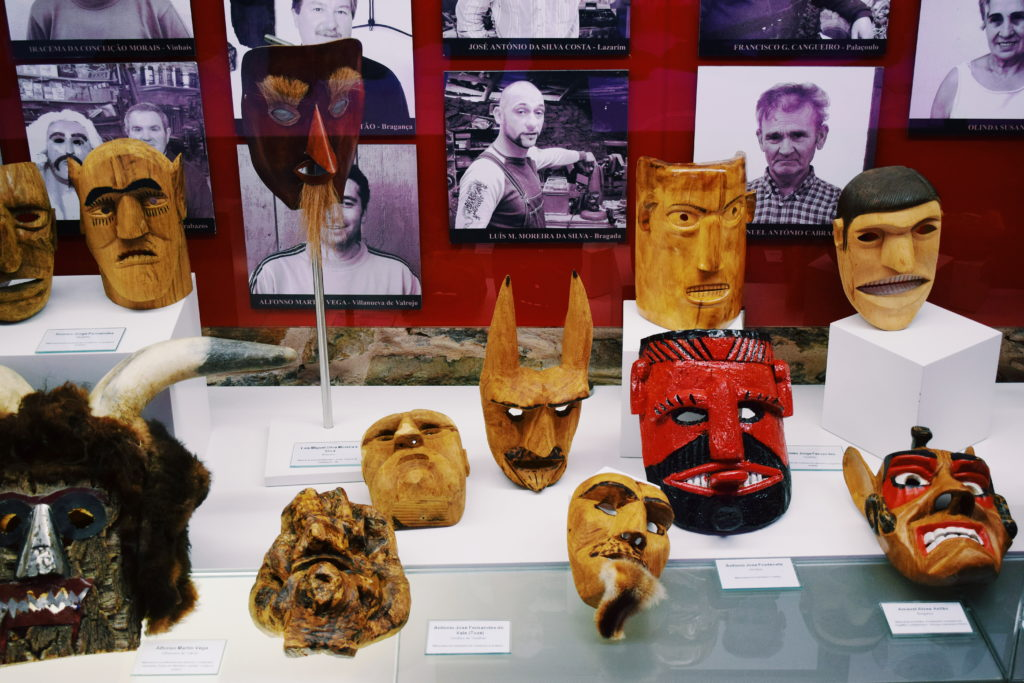 braganca travel guide, iberian mask museum