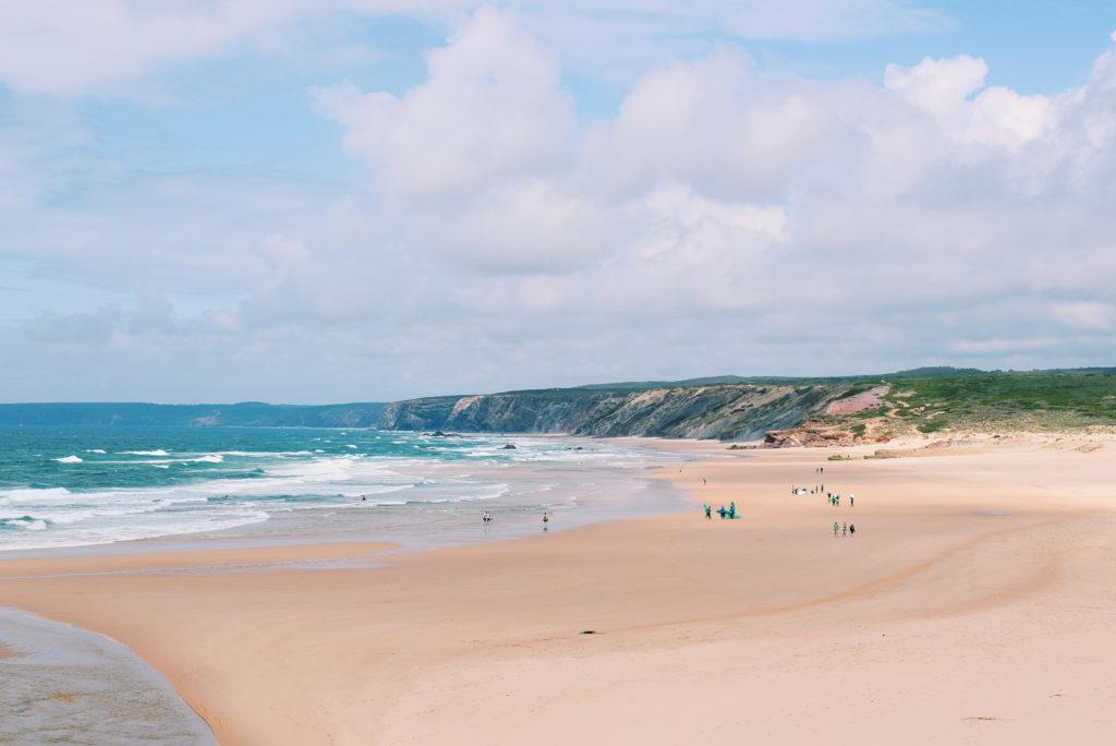 Praia da Bordeira, western algarve