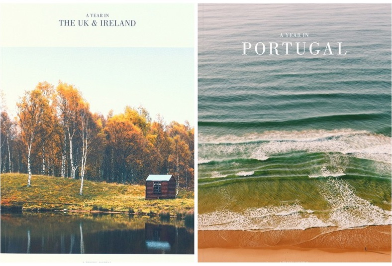 a year in portugal, a year in the uk & ireland, indie travel magazine, indie publishing, travel magazines