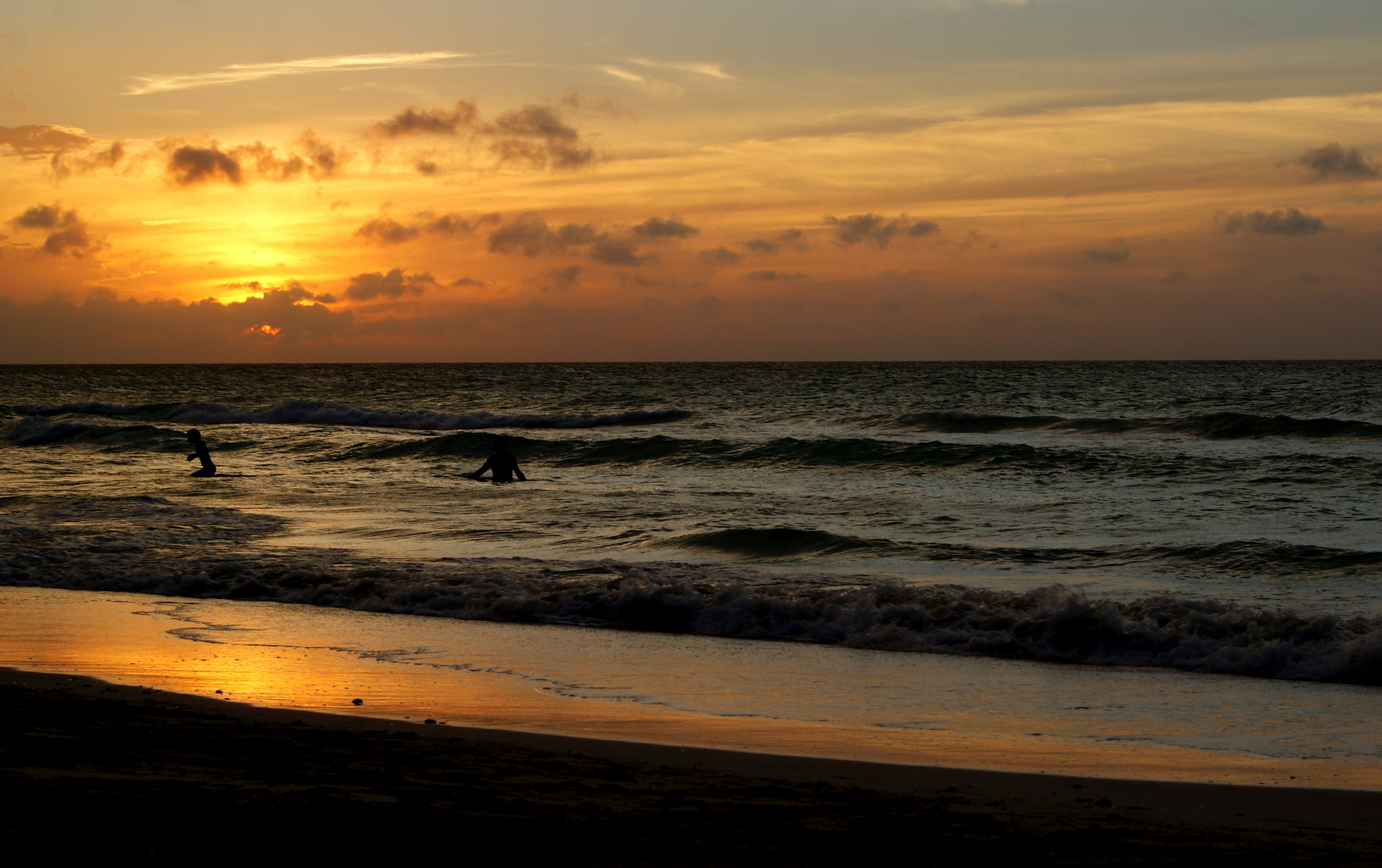 coucher de soleil à cuba, coucher de soleil varadero, soleil de varadero, coucher de soleil sur les caraïbes